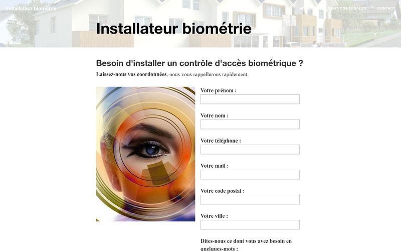 La biométrie à la maison, quel professionnel contacter ?